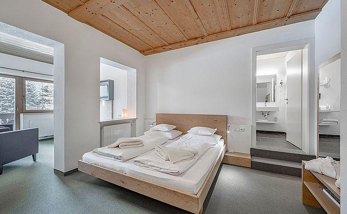 Doppelzimmer Nestwärme Bergblick
